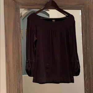 Esprit black 3/4 sleeve top